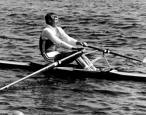 Pertti Karppinen Kolminkertainen olympiavoittaja.<br>