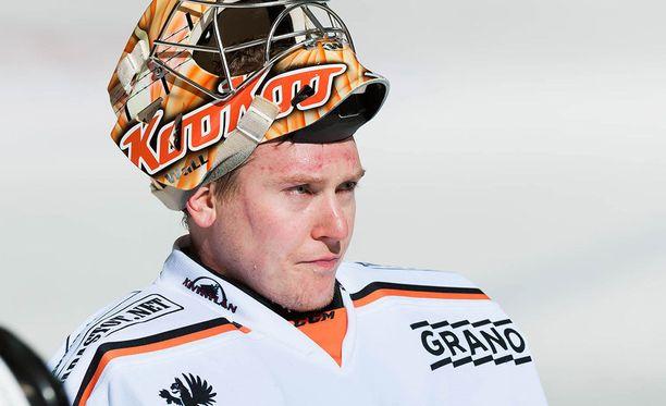 Juha Järvenpää on pelannut Kouvolassa syksystä 2015 lähtien.