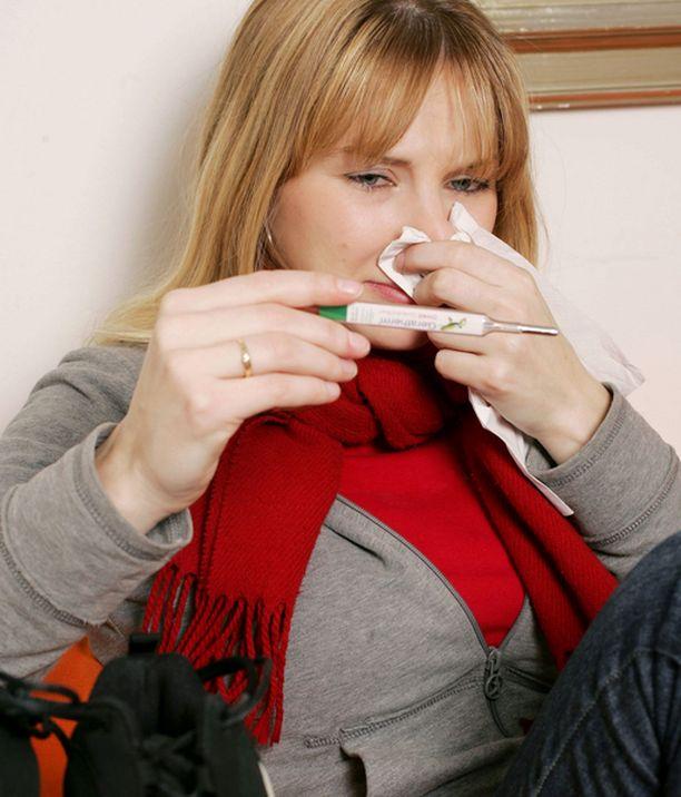 Flunssa saattaa iskeä lämpötilan laskiessa sopivasti.