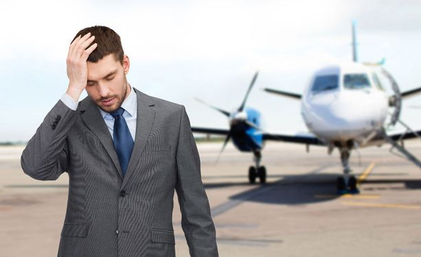 Sairaana lentäminen voi olla hankalaa ja jopa vaarallista.