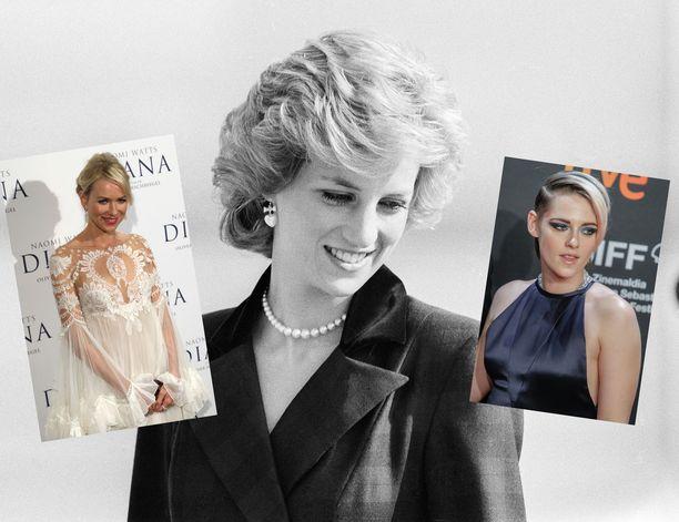 Prinsessa Dianasta on tehty useita elokuvia sekä dokumentteja. Uudessa elokuvassa häntä esittää Kristen Stewart.