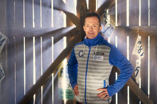 Loiste Energian brändilähettiläs Sami Jauhojärvi kannustaa ihmisiä tukemaan suomalaista huippu-urheilua.