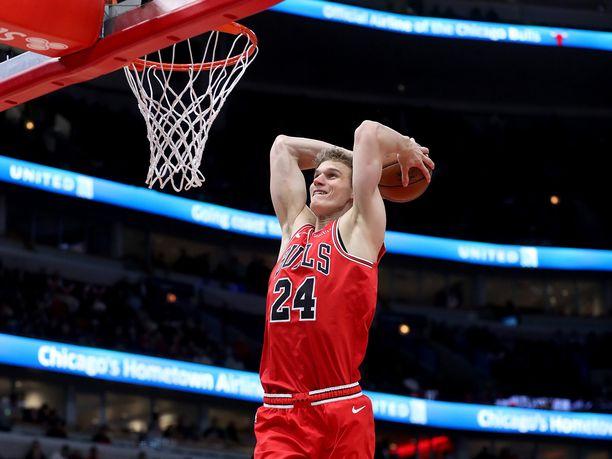Lauri Markkanen esiintyy NBA:n nousevien tähtien ottelussa.