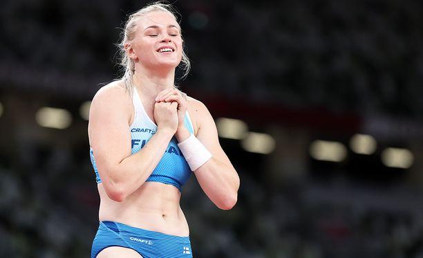 Wilma Murto saavutti parhaan suomalaisen naisyleisurheilijan sijoituksen olympialaisissa 2000-luvulla