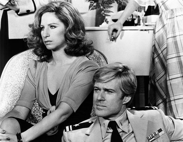 Vuonna 1973 Robert tähditti toisen legendan, Barbra Streisandin, kanssa elokuvaa The Way We Were eli Parhaat vuotemme.