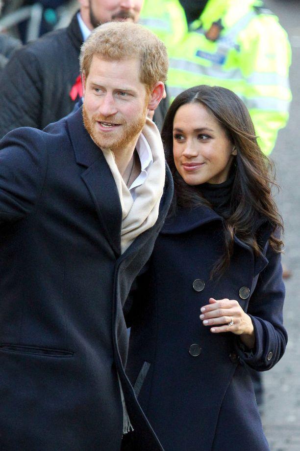Prinssi Harry ja Meghan Markle julkaisivat kihlauksensa viime syksynä.