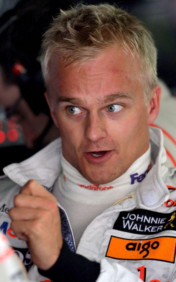 Heikki Kovalaisen McLaren ei toiminut perjantain testeissä suomalaisen toivomalla tavalla.