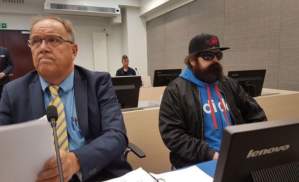 Pekka Seppänen 14,5 vuoden tuomion käräjäoikeudessa.
