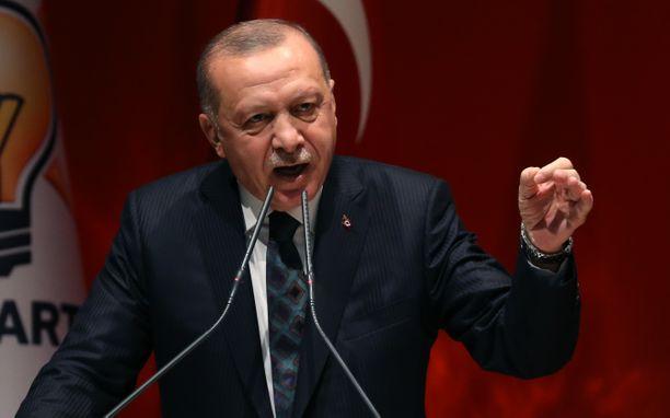 Turkin presidentti ei neuvottele kurdien kanssa.
