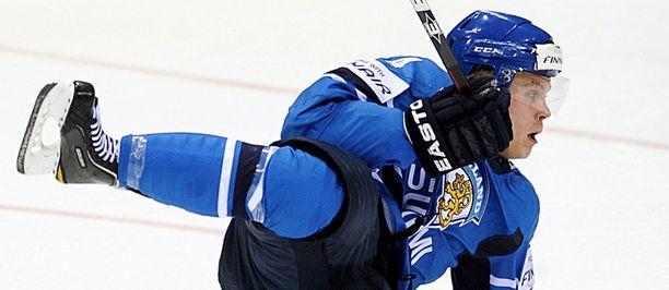 Mikael Granlund, 19, on sekä Suomen että maailmanmestari.