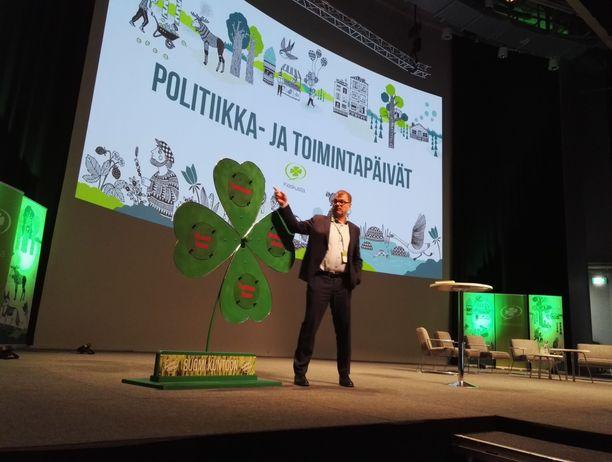 Keskustan politiikka- ja toimintapäiviä vietettiin tänään lauantaina Jyväskylässä.