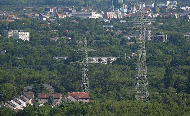 Herne sijaitsee keskellä Ruhrin teollisuusaluetta.