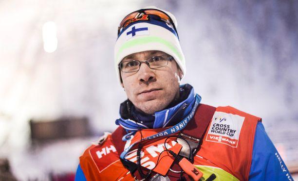 Olli Ohtonen toimii Iivo Niskasen valmentajana.