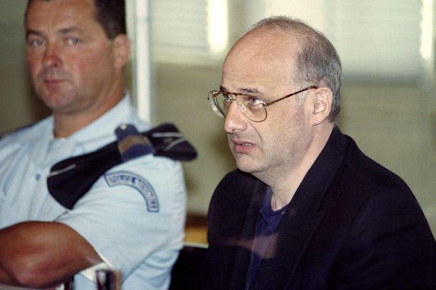 Jean-Claude Romand oikeudessa vuonna 1996.