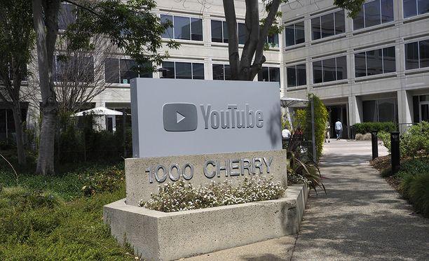 YouTuben pääkonttori sijaitsee Kalifornian San Brunossa.