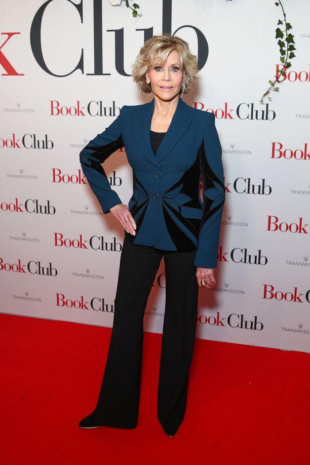 Kuvassa Jane Fonda Australian Sydneyssä elokuussa 2018.