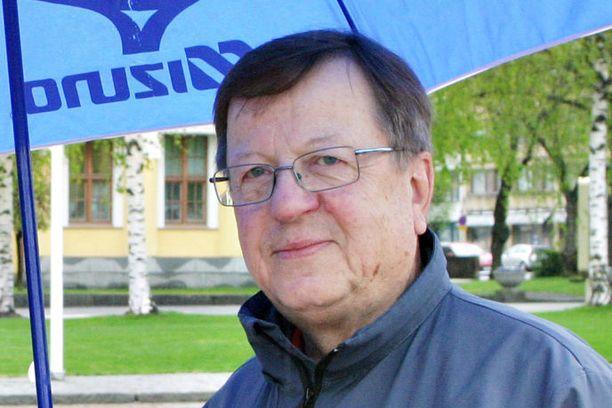 Mikkelin kaupunginhallituksen puheenjohtaja Markku Aholainen.