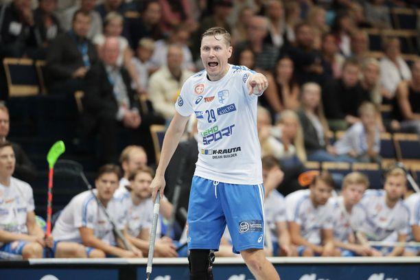 Elävä salibandylegenda Mika Kohonen, 41, on edelleen mukana MM-kisoissa.