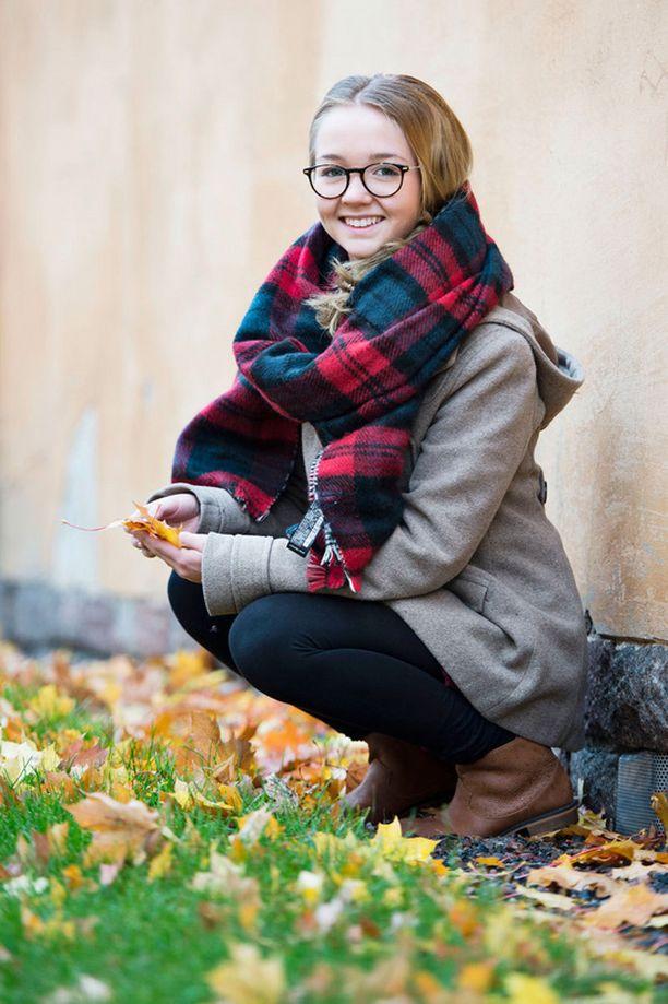 """Jenni osallistui Kidsing-kilpailuun aluksi """"läpällä"""" kaverinsa kanssa."""