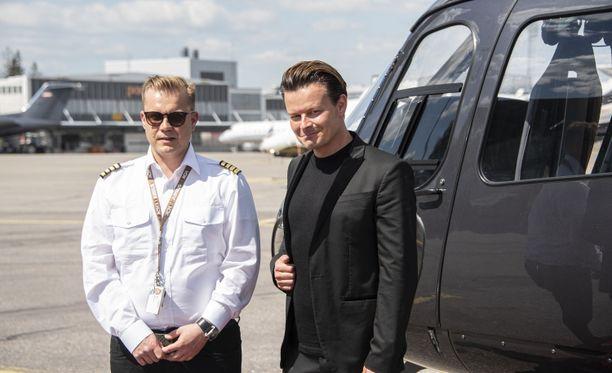 Ari Kallinen ja Joonas Nurmi perustivat Helsinki Citycopterin keskellä koronapandemiaa. Kysyntä yllättä heti kättelyssä.