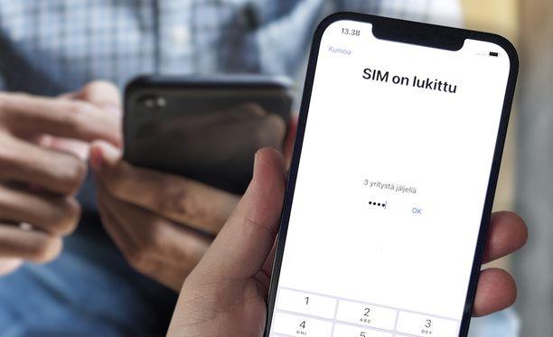 SIM-kortin PIN-koodi kannattaa käydä vaihtamassa, jos niin ei ole vielä tehnyt.