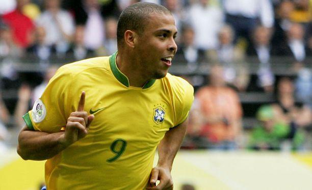 Ronaldo voitti MM-kisojen maalikuninkuuden vuonna 2002 kahdeksalla maalilla.