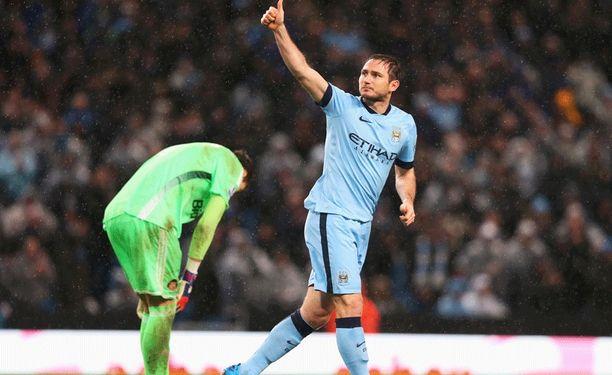Frank Lampard jatkaa Manchester Cityssa.