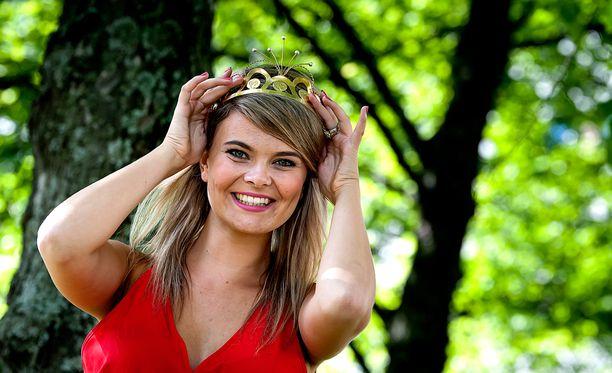 Erika Vikman valittiin tangokuningattareksi lauantaina 9. heinäkuuta.