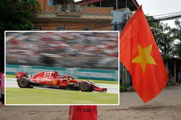 Maranellon punaori laukkaa Vietnamissa vuonna 2020. Kuvituskuva.