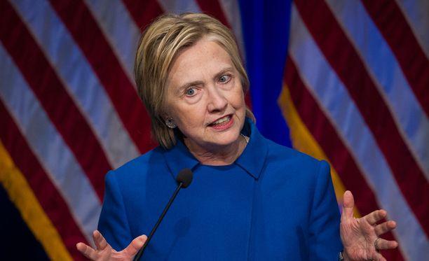 Hillary Clinton on syyttänyt Venäjän hakkerointeja vaalitappiostaan.