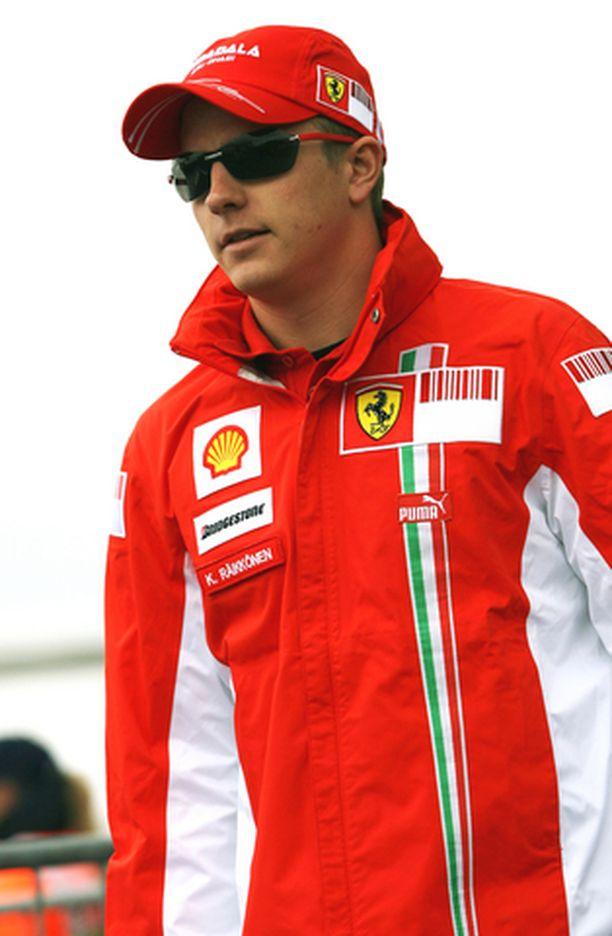 NÄYTÖN PAIKKA Kimi Räikkönen ei ole vielä koskaan voittanut Nürburgringilla.