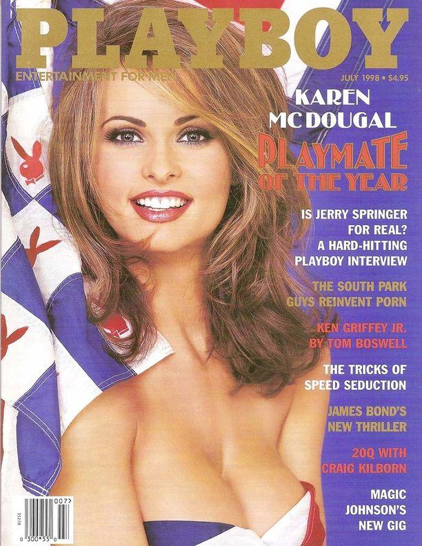 McDougal oli Playboyn vuoden 1998 puputyttö.