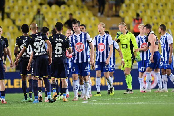 HJK putosi Eurooppa-liigan karsinnoista Konferenssiliigaan.
