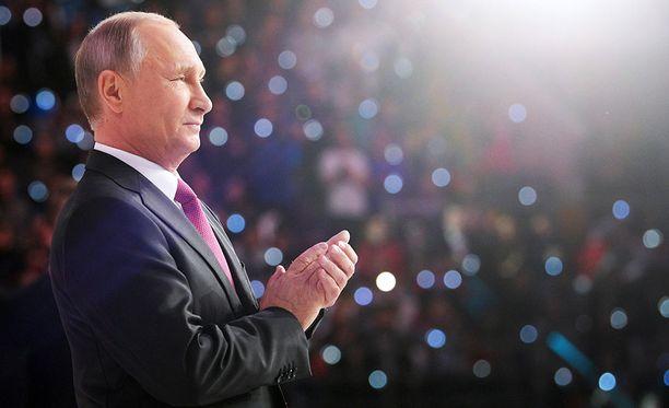 Vladimir Putin vannoi, ettei Venäjä boikotoi Etelä-Korean talviolympialaisia.