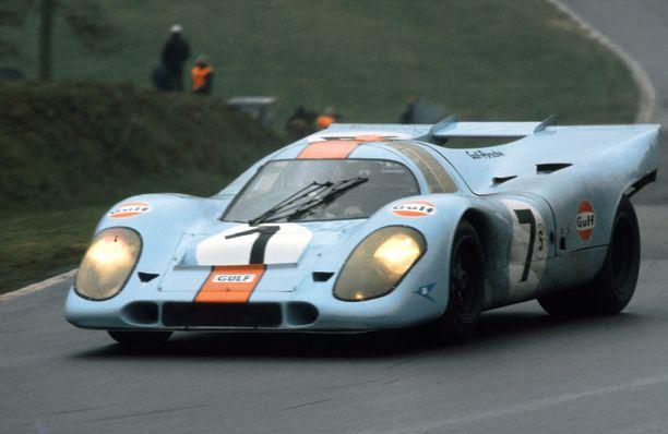 Gulf-väritteinen Porsche. Autourheilun ikonisin näky?
