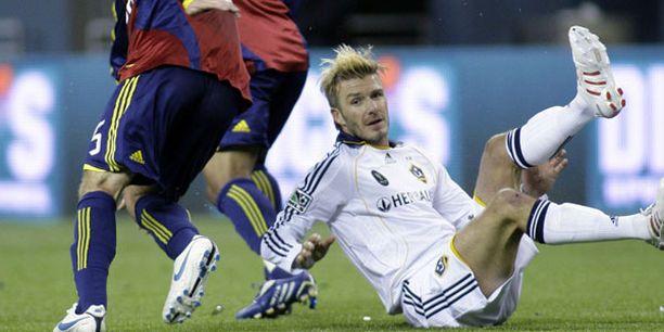 Puolikuntoisen David Beckhamin maali ei riittänyt mestaruuteen.