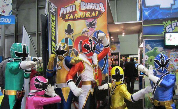Power Rangers Samurai -sarjaa markkinoitiin New Yorkissa helmikuussa 2012. Medina näytteli sarjassa vuosina 2011-2012.