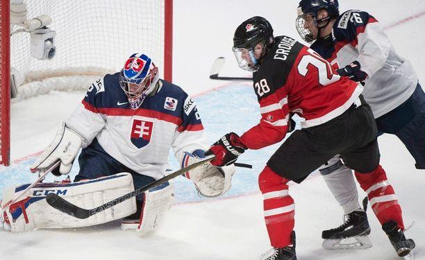 Slovakian puolustus ei saanut nikkareita kuriin.