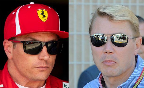 Kimi Räikkönen sai tukea Mika Häkkiseltä.