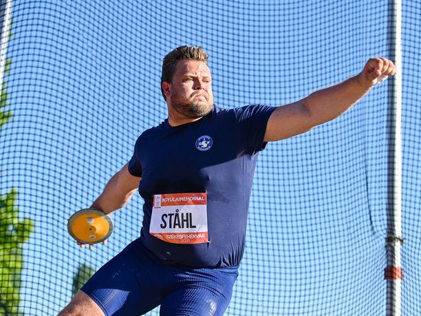 Daniel Ståhl heitti Bottnarydissä kauden kärkituloksen.