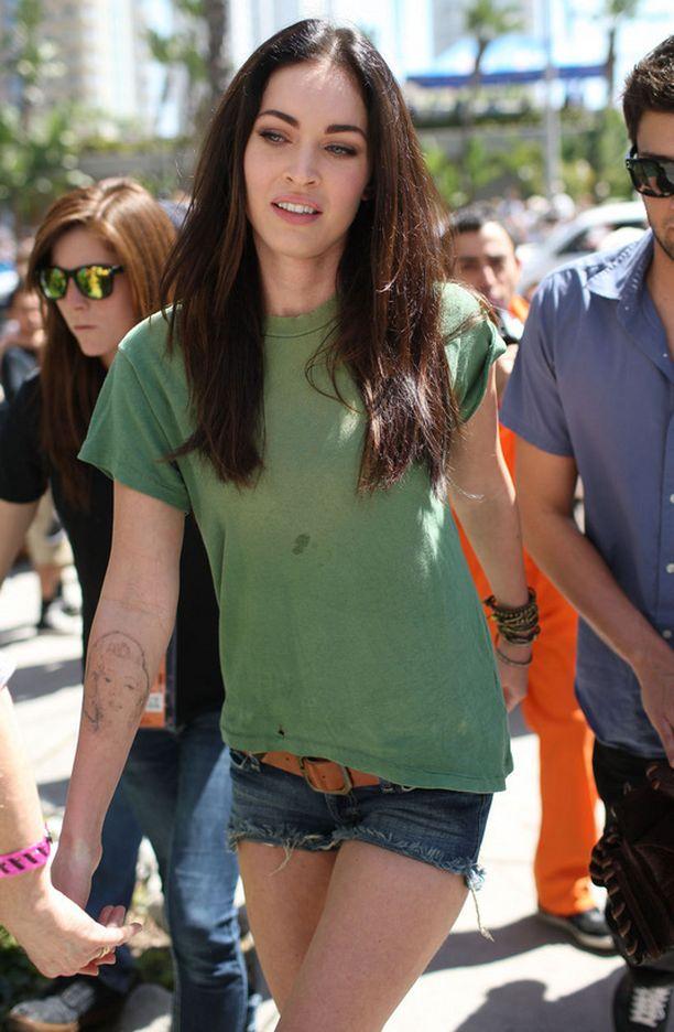 Megan Fox kertoo olevansa hyvin onnellinen raskaudesta.