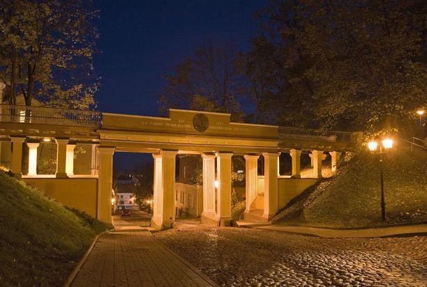 Inglisild eli Enkelisilta on hyvä esimerkki Tarton kauniista historiallisesta arkkitehtuurista.