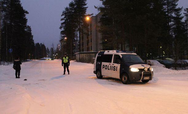 Polisii sai hälytyksen tapahtumapaikalle keskiviikkona aamuyöllä.
