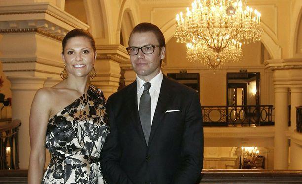 Victoria ja Daniel saapuvat Suomeen sunnuntaina.