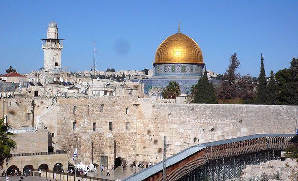 Sekä Israel että palestiinalaiset pitävät Jerusalemia pääkaupunkinaan.