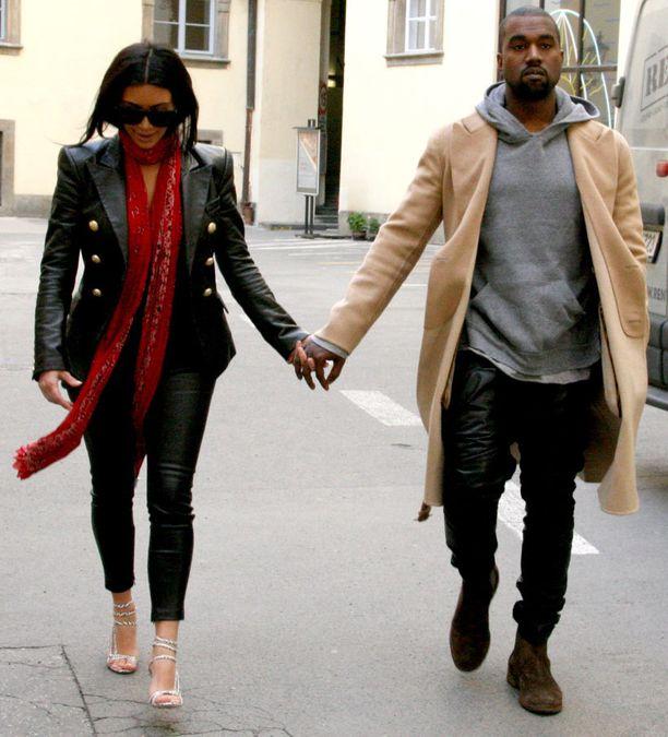 Kanye kosi Kimia viime lokakuussa ja he avioituivat toukokuun lopussa.