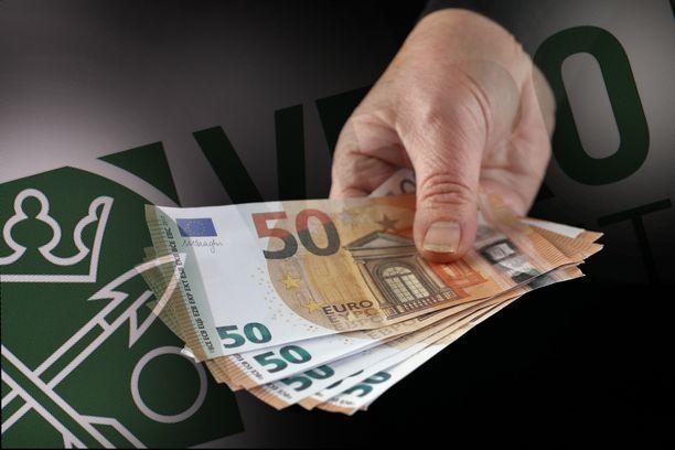 Veroalen sijaan palkansaajien verotus tiukkenee ensi vuonna rahtusen.