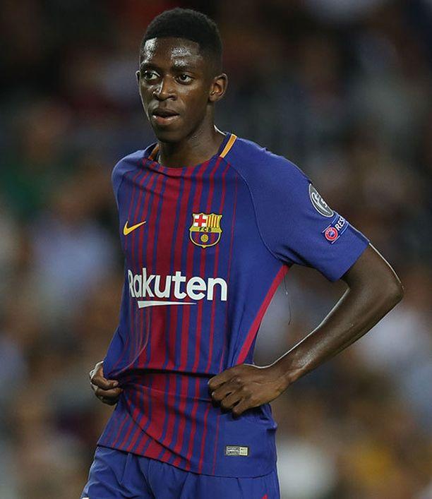 Barcelona maksoi 20-vuotiaasta Ousmane Dembelestä peräti 105 miljoonaa euroa.