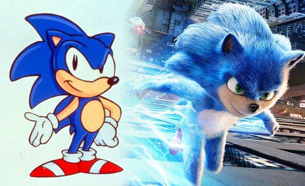 Sonic the Hedgehog -elokuvan Sonic saa uuden käsittelyn.