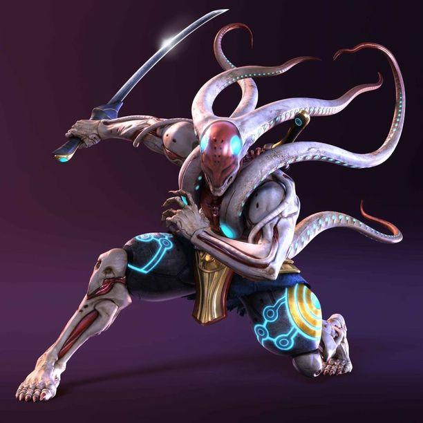 Yoshimitsu on ollut mukana pelissä aina ensimmäisestä vuonna 1994 julkaistusta Tekkenistä alkaen.